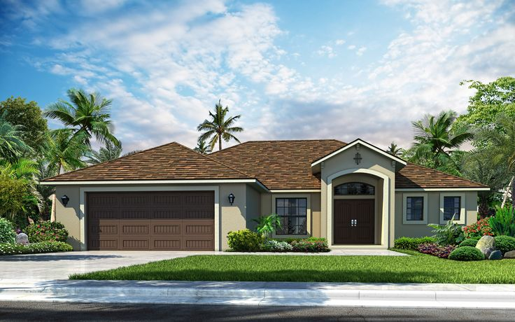 Beautiful front elevation rendering!