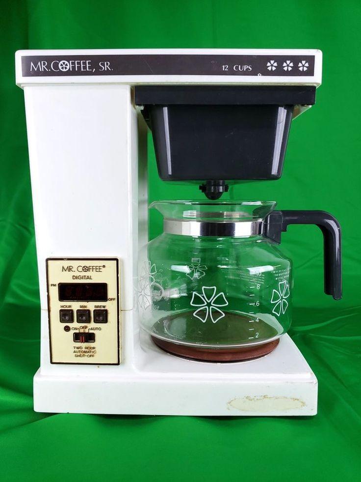 Mr. Coffee Senior SRX-20 12 Cup Automatic Drip Coffee Maker #MrCoffee | Drip coffee maker, Mr ...