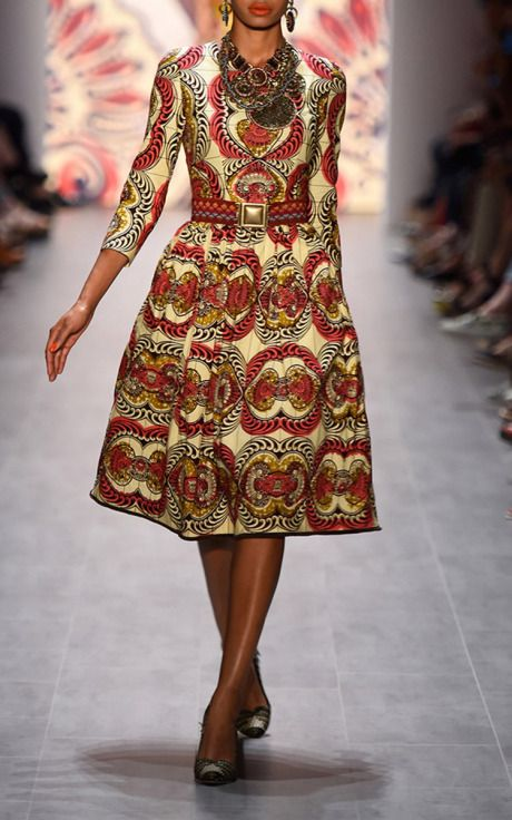 Angola Mandala Dress by Lena Hoschek for Preorder on Moda Operandi