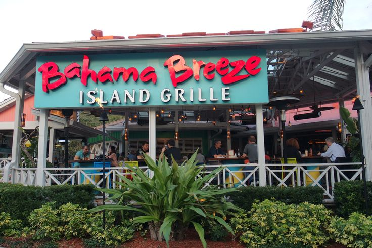 Bahama Breeze Island grill is a Caribbean style restaurant with a fun, tropical atmosphere. Enjoy the laid back setting with a great selection of food & drink. Bahama Breeze is located right on the I-Drive Strip, only 2 miles from DoubleTree by Hilton Orlando at Seaworld.