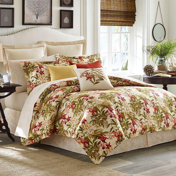 46 Best Tropical Tommy Bahama Images On Pinterest Bedrooms Inside King Comforter Set Interior 29