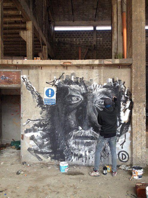 Street art, la contro-mostra dei writer in una fabbrica abbandonata a Bologna