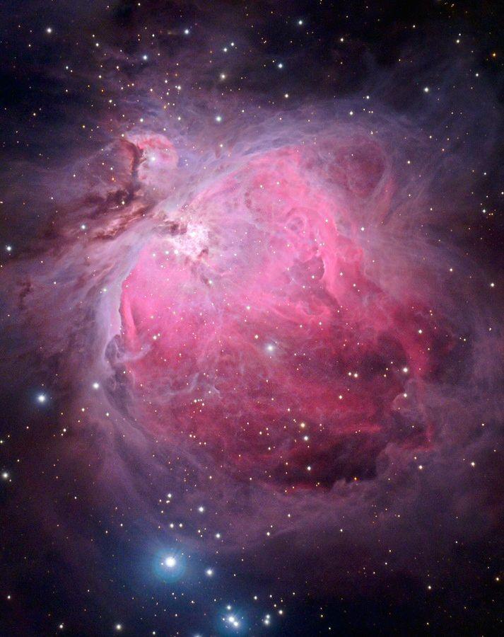 Great Orion Nebula | Space | Orion nebula, Hubble space ...