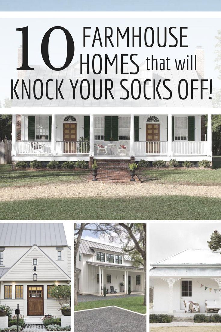 10 Inspiring Farmhouse Properties Farmhouse Style House Farmhouse Style Decorating Modern Farmhouse Exterior