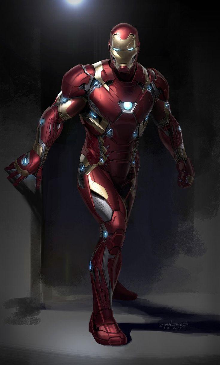 Artstation Captain America Civil War 2014 Iron Man Mk46 Phil Saunders Iron Man Vs Captain America Iron Man Hd Wallpaper Iron Man Armor