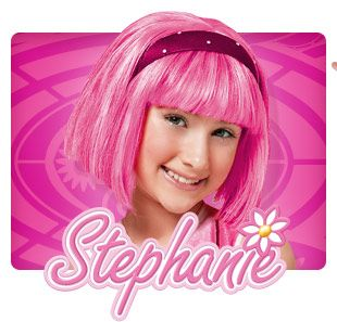 Stephanie.. Lazy town