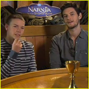 Ben Barnes & Will Poulter: Narnia Interviews! | Ben Barnes, The ...