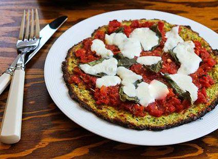 ... Zucchini Crusts Vegetarian, Recipe, Pizza Crusts, Vegetarian Pizza