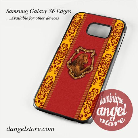 gryffindor hogwarts Phone Case for Samsung Galaxy S3/S4/S5/S6/S6 Edge Only $10.99