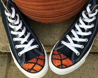 Basketball Bling Converse High Tops. Toddler by TrickedKicks