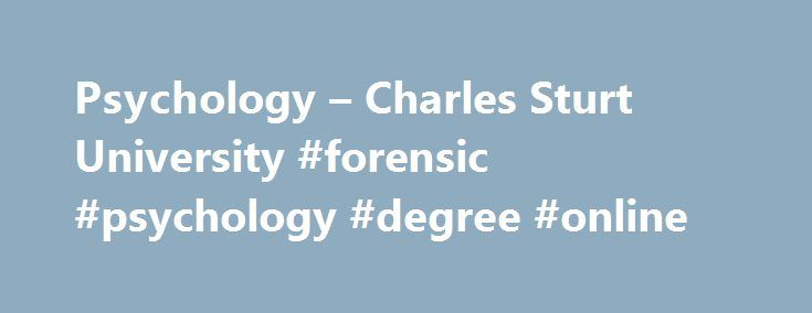 how to become a australia forensic psychology