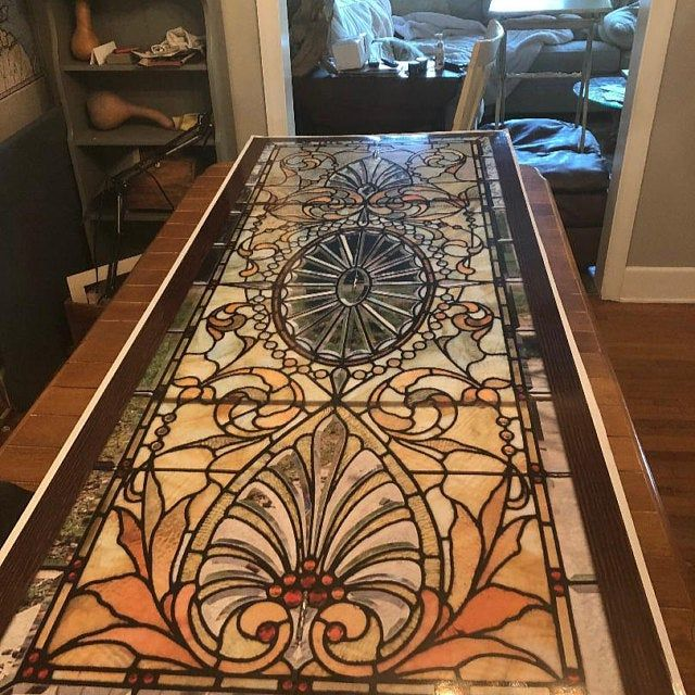Door Wall Sticker Stained Glass With Bevels Self Adhesive Etsy Stained Glass Door Door Wall Vinyl Doors
