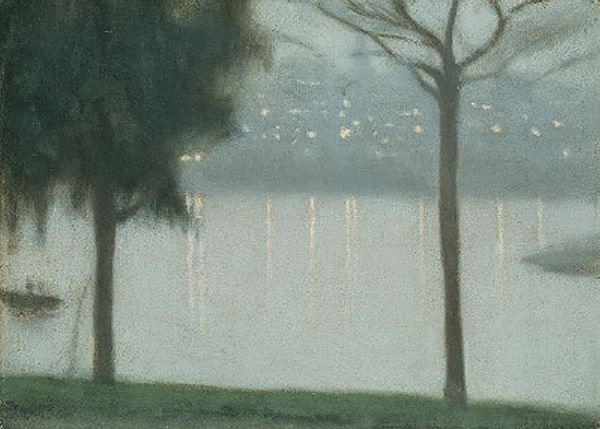 Clarice Beckett, Across the Yarra.