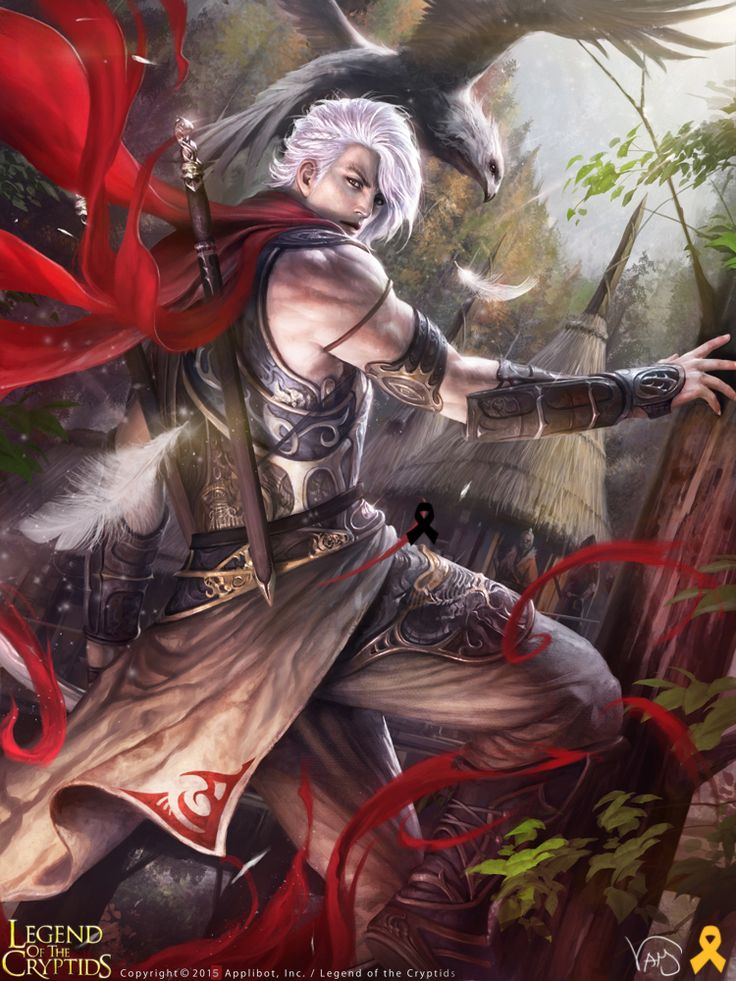 Artist: Yang Mansik aka yam8417 - Title: Unknown - Card: Discio, Kage Leader