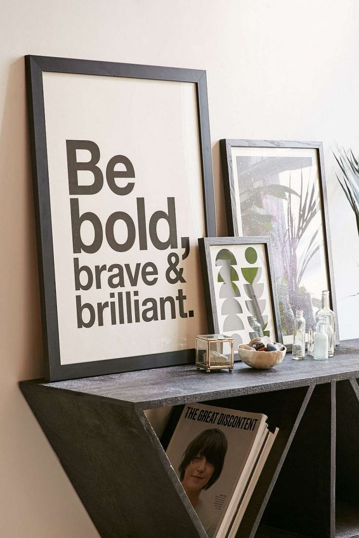 male office decor. 15 Trendy Typography Decor Finds That Go Beyond \u201cLive, Laugh, Love\u201d Male Office E