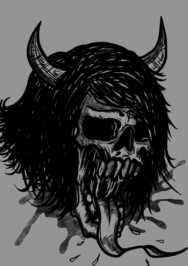 Woman Skull
