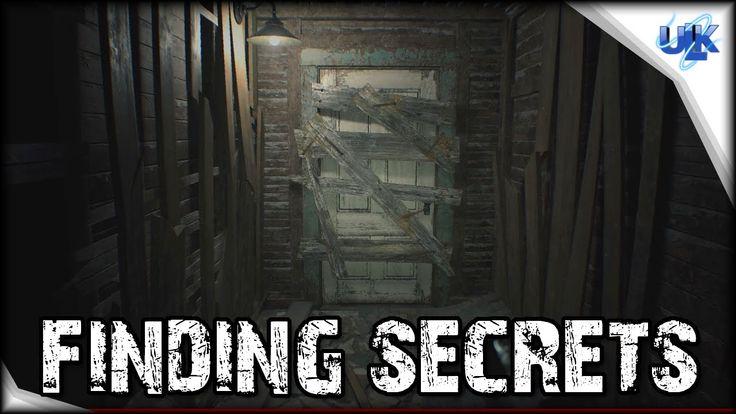Resident Evil 7 Teaser Demo Walkthrough - 2nd Ending, Secrets, How to Fi...