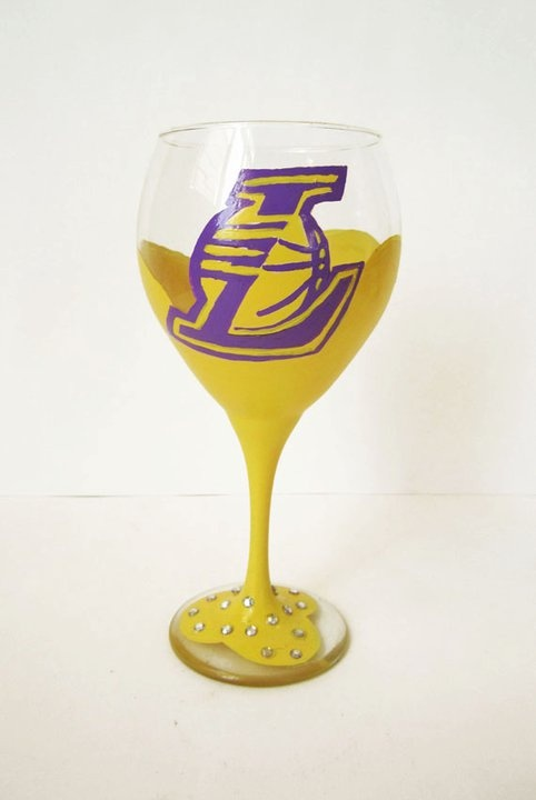 Hand Painted Wine Glass Pinterest