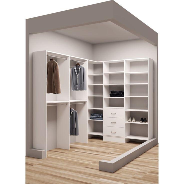 Best 25+ Corner closet ideas on Pinterest   Corner closet shelves ...