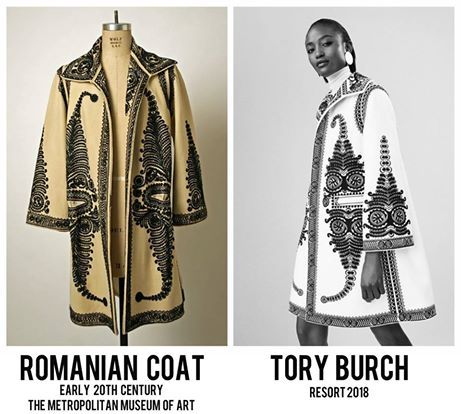Image result for tory burch romanian coat