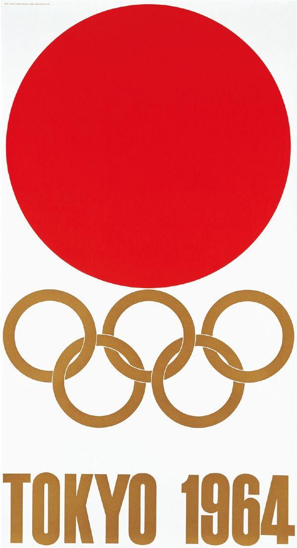 東京オリンピック 亀倉雄策