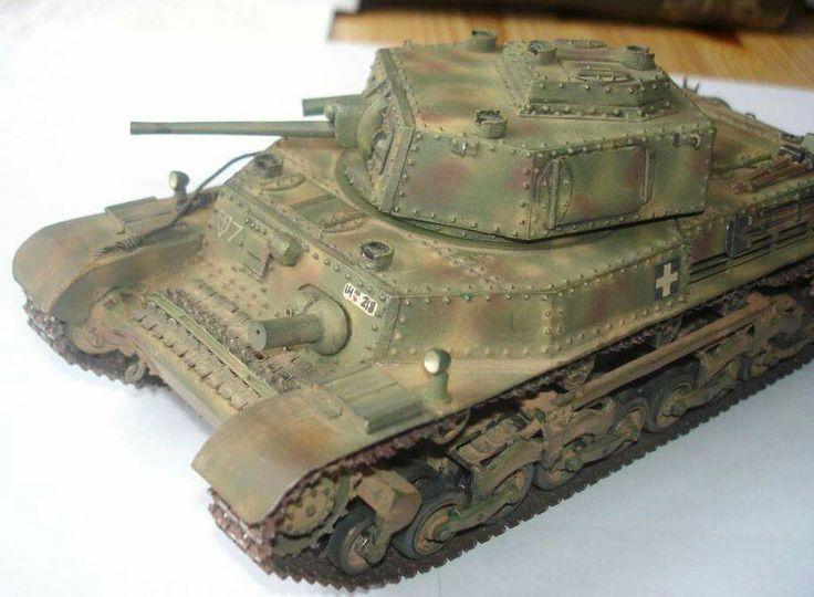 Turán 40M harckocsi makett! internet.