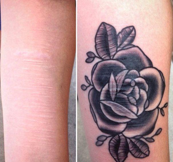 El tatuador Brian Finn dedica su tiempo libre a hacer tatuajes gratis a víctimas de la violencia doméstica, de la enfermedad o de la auto lesión. Sus obras de arte sobre la piel son el reflejo agridulce del dolor que esconde (literalmente) la belleza.