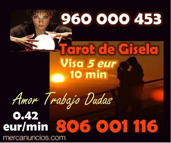 TAROT VISA 5 EUR 960 000 453 O 806 001 116 - 5 EUR : Horóscopo y Tarot - Valencia ES