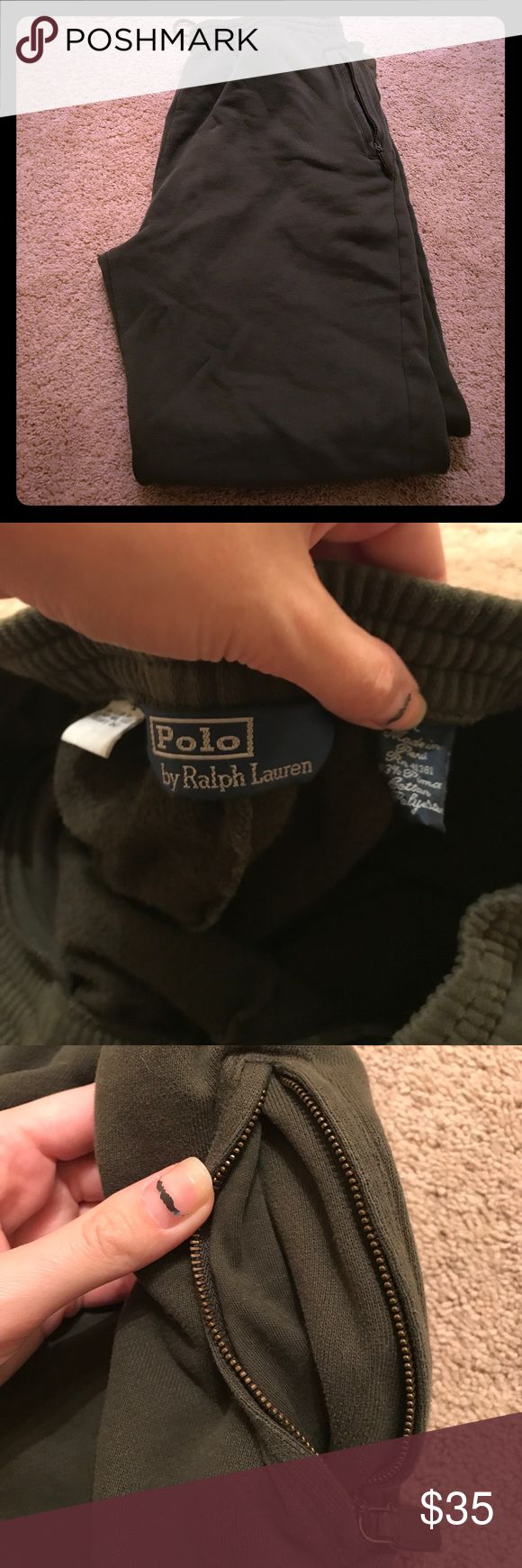 Men's Polo by Ralph Lauren sweatpants🌈 Great condition only worn a handful of times... never really fit my hubby made from cotton and polyester!! Polo by Ralph Lauren Pants Sweatpants & Joggers