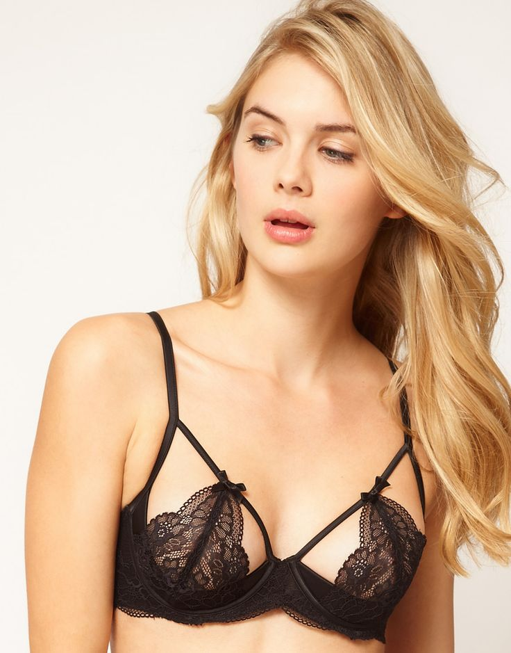 Ultimo Black Label Persuasion Underwire Cut Out Bra