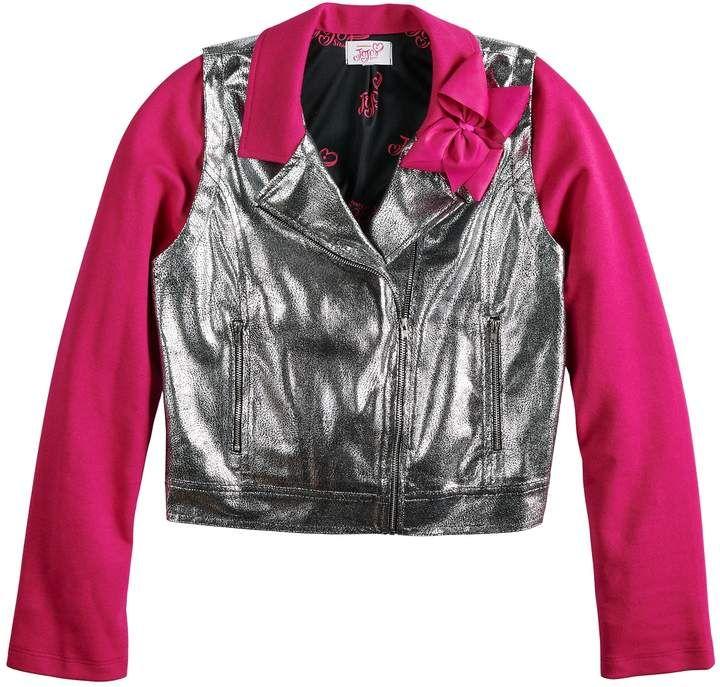 Girls 7 16 JoJo Siwa Moto Jacket | Girls jackets kids, Girls