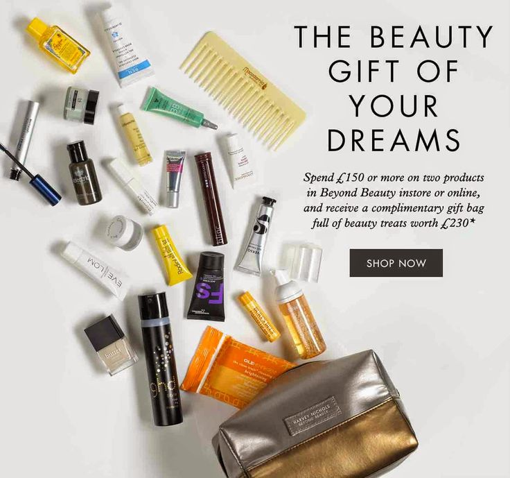 Harvey Nichols Free Goody Bag Worth £230