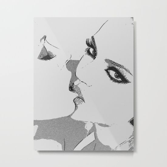 #Dirty #girls #love to play some Naughty games - 20% Off + Free Shipping - #Sale Ends Tonight at Midnight PT! #kinky #erotic #art #print, #society6 #onsale - sexy #lesbians #kissing, biting lips, #hot erotic #artwork