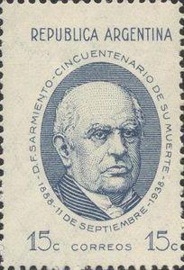 Domingo Faustino Sarmiento (1811-1888), President, Writer