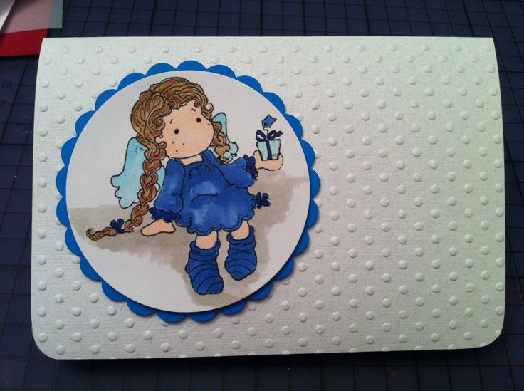"""""""Young Lady"""" - A collection that covers 12 months of stationary needs.  Birthday, Anniversary, Christmas Embossed paper; diecut and stamped; Copic markers used to color the stamp;"""