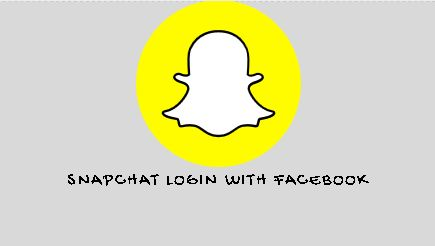 SnapChat Login with Facebook  Snapchat Sign Up