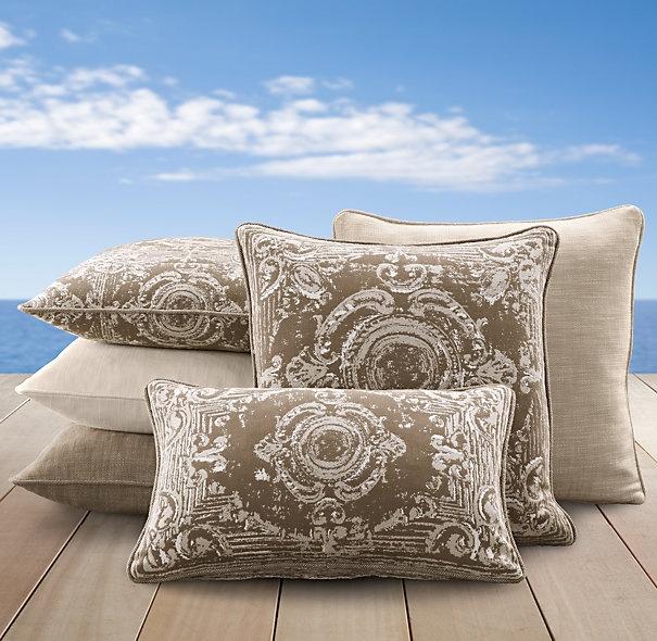 Restoration Hardware Outdoor Pillows