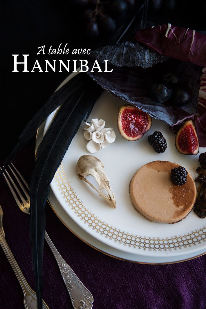 Diner with Hannibal Lecter #JanicePoon #hannibal