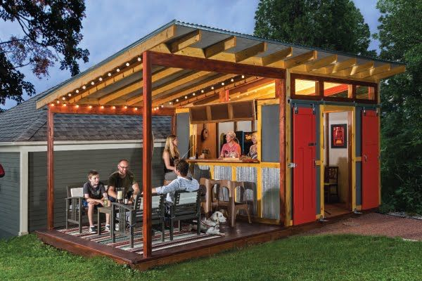 IndyMetroHomes-Sauter Realty Group-Keller Williams: Cool Sheds!