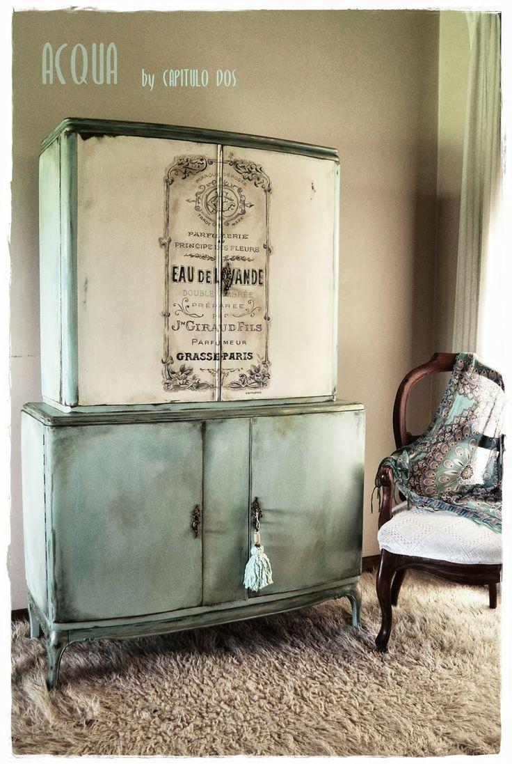 Mueble ropero transfer capitulo dos capitulo dos - Muebles restaurados vintage ...