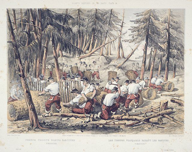 Paul & Dominic Colnaghi & Co., 1854: Bomarsund (Ahvenanmaa, Suomi, Museovirasto)