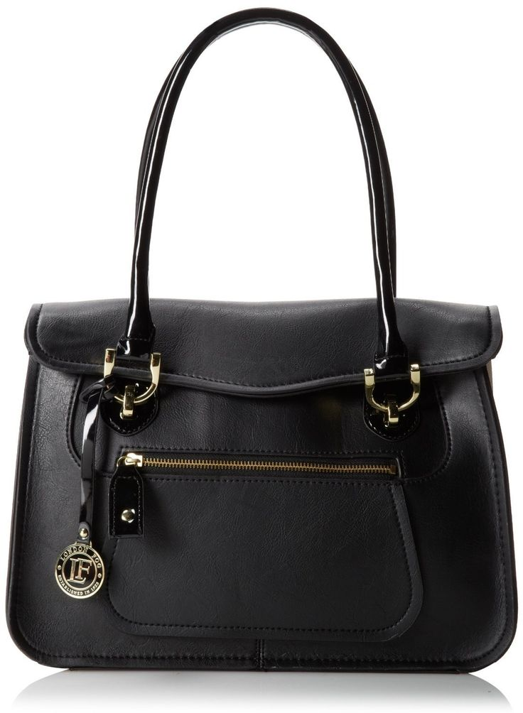 Amazon.co.jp: [ロンドンフォグ] London Fog サリバン ブリーフケース イブニングバッグ Sullivan Briefcase Evening Bag Black/White One Size 【並行輸入品】: シューズ&バッグ:通販