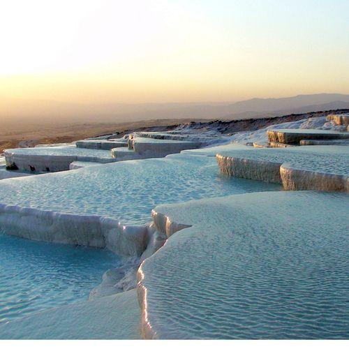 .: Natural Wonder, Travertine Pools, Pamukk Turkey, Castles, Pamukkal Travertine, Travel, Places, Hot Springs, Pamukkal Turkey