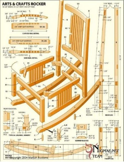 Wooden Chair Plans Blueprints Woodworking Projects Plans