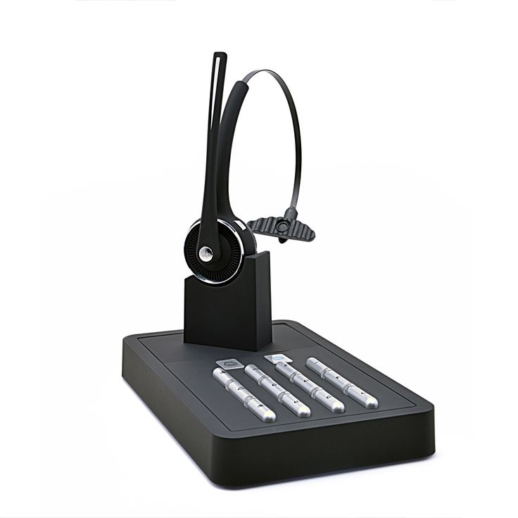 Top Wireless Headband Bluetooth Headphone of Fixed Phone With USB Mic for Business and Office