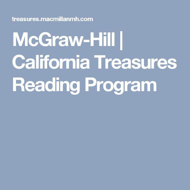 McGraw-Hill | California Treasures Reading Program