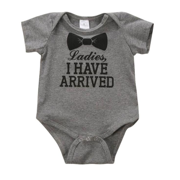 $2.61 (Buy here: https://alitems.com/g/1e8d114494ebda23ff8b16525dc3e8/?i=5&ulp=https%3A%2F%2Fwww.aliexpress.com%2Fitem%2FNewborn-Baby-0-12M-Kids-Boys-Girls-Cotton-Letter-Print-Romper-Bodysuit-Jumpsuit-Clothes-Outfit-Sets%2F32701595294.html ) Newborn Baby 0-12M Kids Boys Girls Cotton Letter Print Romper Bodysuit Jumpsuit Clothes Outfit Sets  for just $2.61