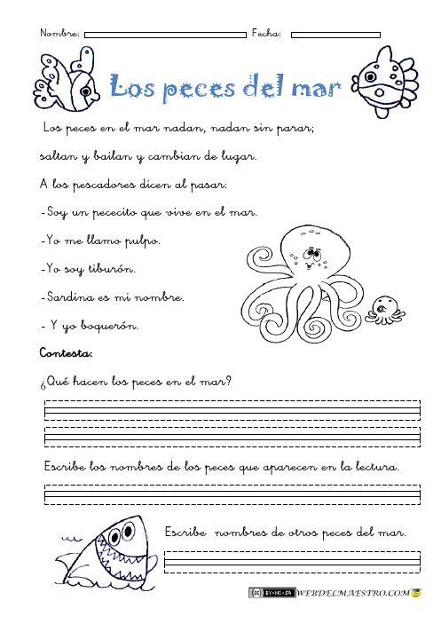 Lectura comprensiva Archivos - Página 2 de 4 - Web del maestro - Educación Infantil y Primaria