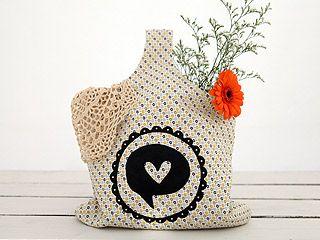 Manualidades y Artesanías | Bolso estampado | Utilisima.com: Bags, Crafts