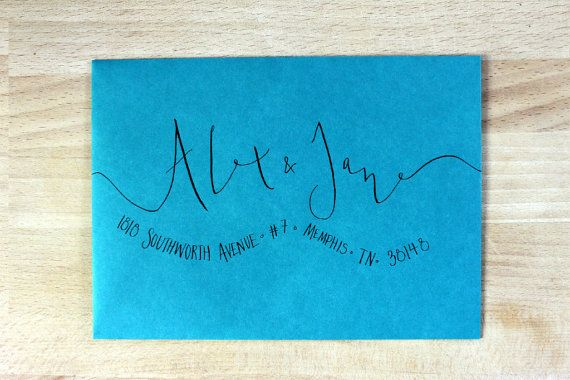 25 Best Handwritten Wedding Invitations Ideas On